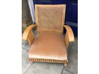 Oak Art Deco Style Chair - in good condition and good quality .