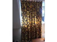 Lined Pinch Pleat Curtains Heavy Material