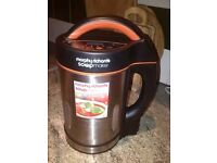 A great condition soup and smoothy maker, get ready for delicious summer smoothies or soup