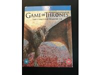 Game of Thrones 1-6 blu ray dvd