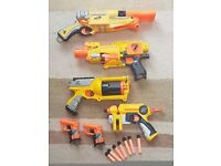 Selection of NERF guns and ammo