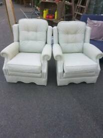 Peter Guild Armchairs