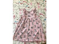 Pink rabbit dress