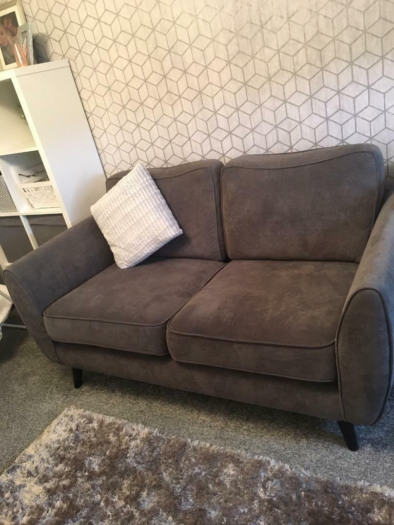 2 seater and 3 seater 1 year old couch for sale