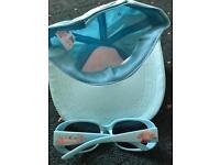 Disney frozen sun cap and sunglasses