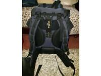 Mountain Blue Back Pack Perect For Festivals