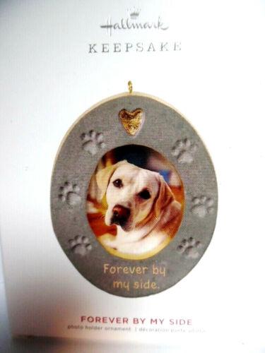 Hallmark 2019 - FOREVER BY MY SIDE - Pet Memorial Photo Holder Ornament - NIB
