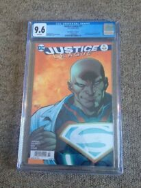 CGC DC Justice League #51 9.6 ERROR EDITION