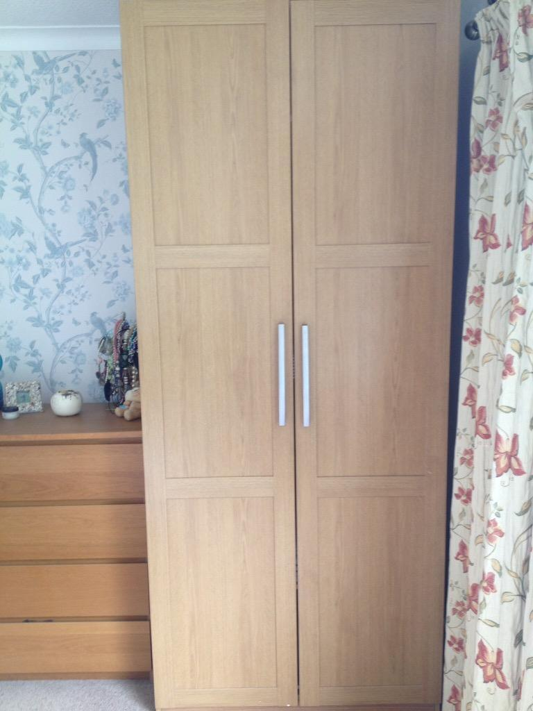Ikea malm wardrobe and drawers in comber county down for Armoire malm