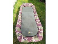 CAMOUFLAGE FISHING BED CHAIR