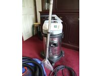 Carpet water extractor.