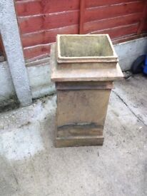 Early Victorian Chimney Pot (for use as an Ornamental Garden Planter)