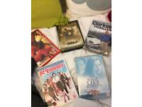 St trinians/what lies beneath /clarkson thriller /spider man/lord of the rings