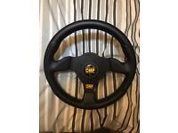 Genuine omp steering wheel and boss kit for Vauxhall Corsa