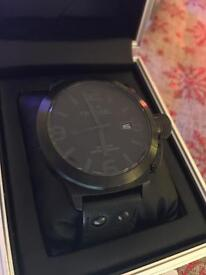 TW STEEL Blacked out watch