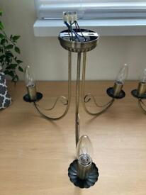 2 x chandeliers