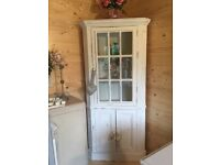French solid pine corner unit - Gorgeous!