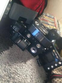 Job lot of stereo,photo screen,speakers
