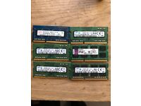 DDR3 Laptop memory 4GB / 2GB / 2X4GB SODIMM Great price!!!