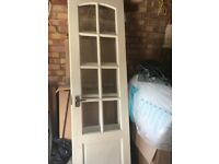 Wickes Newland Internal French Doors Pine Glazed 8 Lite 1981 x 1170mm