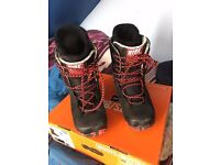Ride FUL 2011/2012 Mens UK 8 Snowboard Boots Used for 5 weeks
