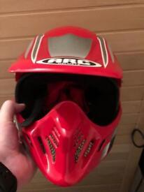 Crash helmet Moto x style