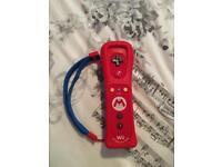Nintendo wii U Mario controller limited edition
