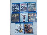Blu-Ray Bundle of 8 Films