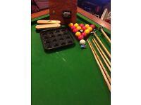 Full size pub pool table