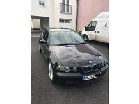 BMW E46 Compact Black