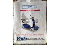 Hurricane mobilty scooter