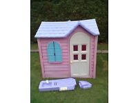 Little Tikes/Tykes Pink Country Cottage Playhouse - Roundhay Park LEEDS 8 - Can Deliver