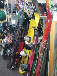 Traiblazers Gear Exchange Has a Great Selection of Pre-Owned Snowboards, Boots, Helmets and Goggles