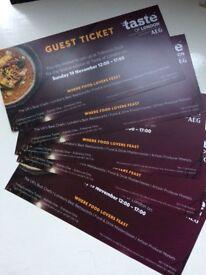 5 x Taste Of London Sunday Tickets