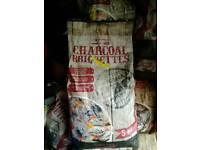 Charcoal briquettes 5kg bags