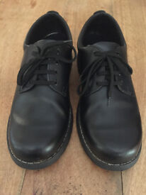 Black Leather school/work shoes