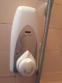 Auqalisa power shower from home with water softener