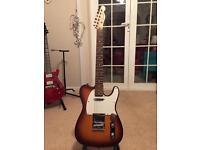 Beautiful Sunburst Westfield Telecaster, Tele, Electric Guitar, like the Squier/Fender