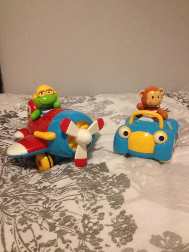 ELC. Monty monkey and Freddie frog