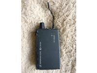 Sennheiser ew 300 iem wireless stereo body pack receiver