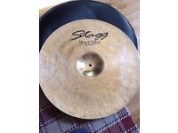 """Rock Ride Cymbal, Stagg DH-RR20B 20"""" DH, including cymbal bag"""