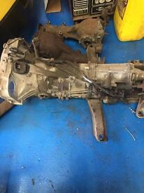 2008 subaru wrx 5 speed gearbox and diff