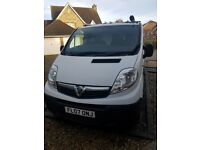 Vauxhall Vivaro - great van - never had any problems