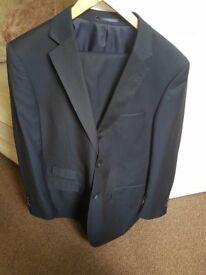 Navy Men's TU suit