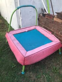 Small trampoline for sale used condition