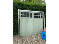 2 x Cardale Garage Doors (up and over) matching