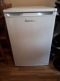Small fridge with icebox freezer