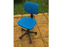 Childrens Swivel Chair (Blue)