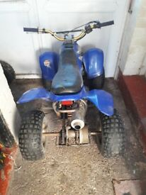 125 quad. 50 shell with a 125 4 stroke in it. £125 bargain 07494887343