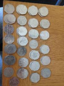 Rare 50p coins